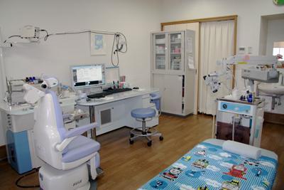 耳鼻科 はせがわ耳鼻クリニック(山口県山陽小野田市)診察室